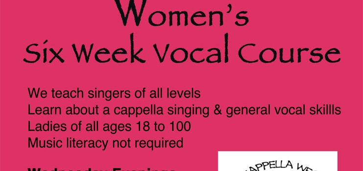 A Cappella Vocal Course