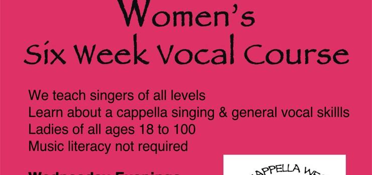 A Cappella Vocal Course