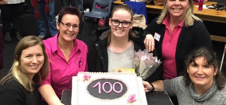 100th Member Milestone